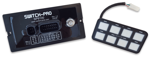 Switch Pro SP-9100 Bezel Style 8-Switch Panel Power System