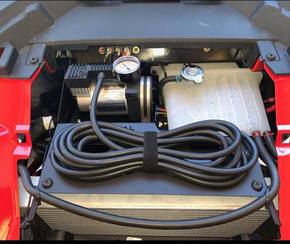 Adventure Air On-Board Compressor Kit for Polaris Turbo S by Full Metal Fabworks