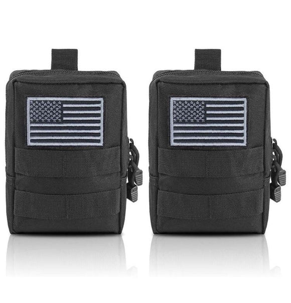 MOLLE Small Utility Pouch (2 pack) - by Bombshell Gear