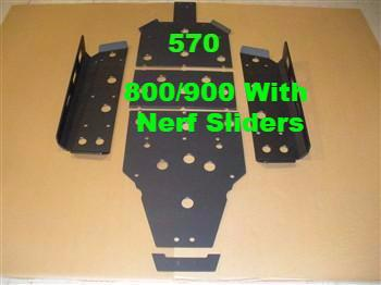 Trail Armor RZR 570/800/900 XP Skid Plates and Under-body Protection