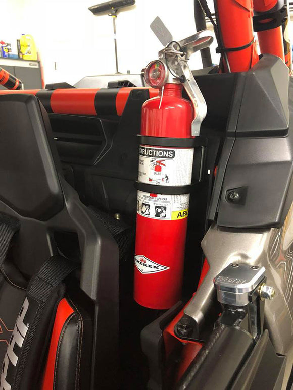 Can Am Maverick X3 Fire Extinguisher Mount by TEK208