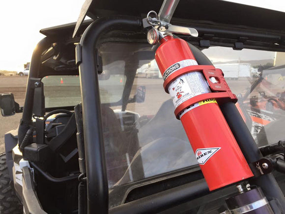 Quick Release Fire Extinguisher Roll Bar Mount by TEK208