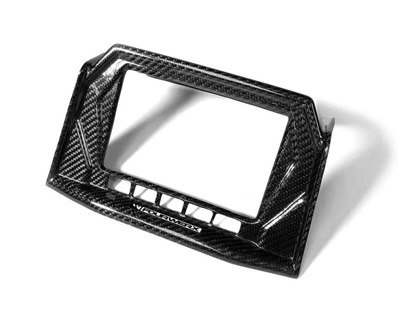 POLARIS RZR TURBO S / RC MODELS - CARBON FIBER SCREEN SURROUND by FOURWERX