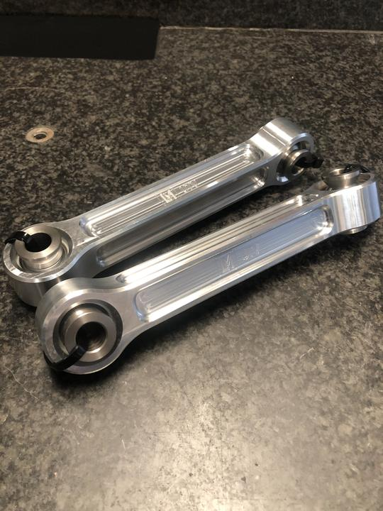 Polaris | Rzr | Fixed Front Sway Bar Links by LM UTV