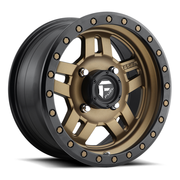 Anza D583 Simulated Beadlock Wheel by Fuel UTV