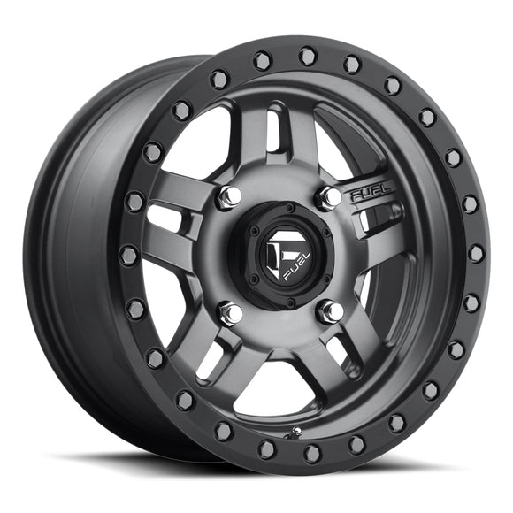 Fuel UTV Anza D558 Simulated Beadlock Wheel