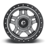 Anza D558 Simulated Beadlock Wheel by Fuel UTV