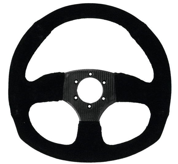 D Shaped UTV Steering Wheel by Dragonfire