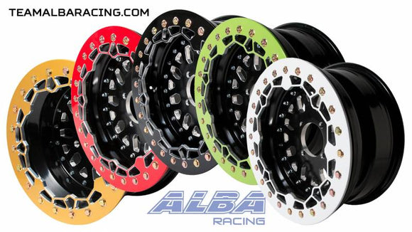 Alba Racing - Crusher Billet Beadlock Wheels 4/156 for Polaris & KRX