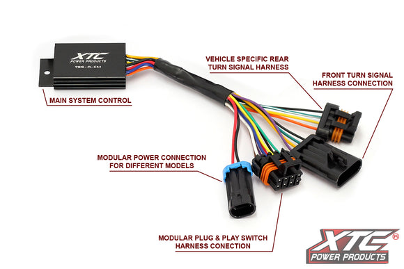 Can-Am Defender Self-Canceling Turn Signal System with Horn by XTC