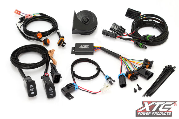 Can-Am Maverick Sport/Trail Self-Canceling Turn Signal System with Horn by XTC