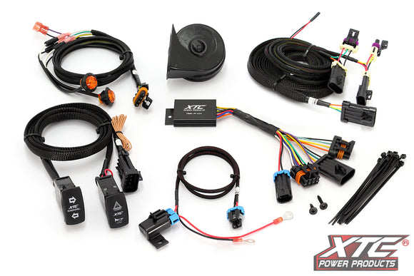 Honda Pioneer 1000/700 Self-Canceling Turn Signal System With Horn by XTC