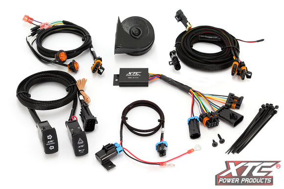 Polaris RZR XP 1000 2014 Self-Canceling Turn Signal System with Horn by XTC