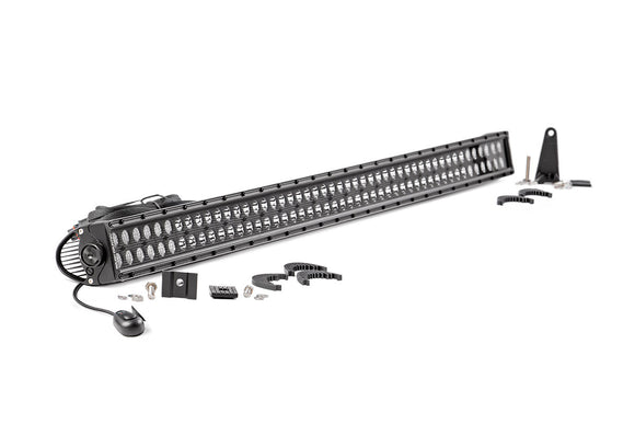 ROUGH COUNTRY 50-INCH CREE LED LIGHT BAR - (DUAL ROW | BLACK SERIES)