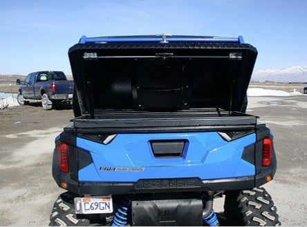 Polaris General Bed Cover With Rack By Ryfab Pro Utv Parts