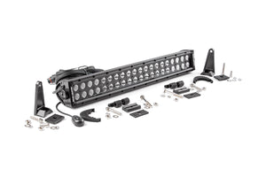 ROUGH COUNTRY 20-INCH CREE LED LIGHT BAR - (DUAL ROW | BLACK SERIES)