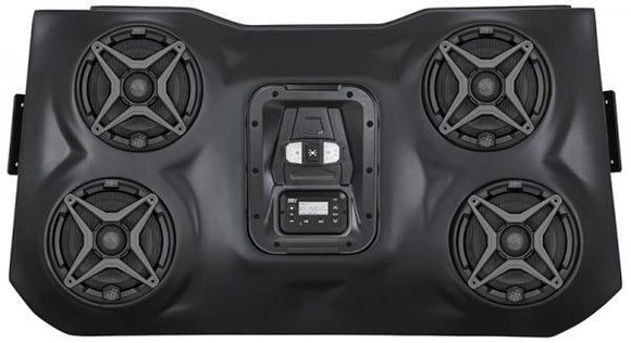 SSV Works POLARIS RZR XP1000 - 15+ RZR 900 BLUETOOTH IPOD 4 SPEAKER OVERHEAD WEATHER PROOF AUDIO SYSTEM