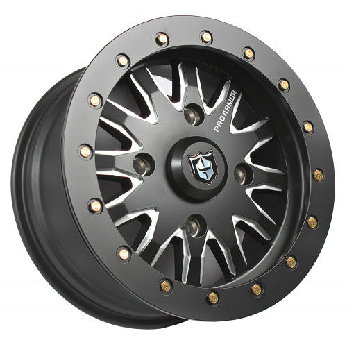 PRO ARMOR HALO MILLED BEADLOCK WHEEL - 15X7