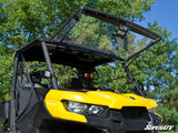 Can-Am Defender Scratch Resistant Flip Windshield by SuperATV