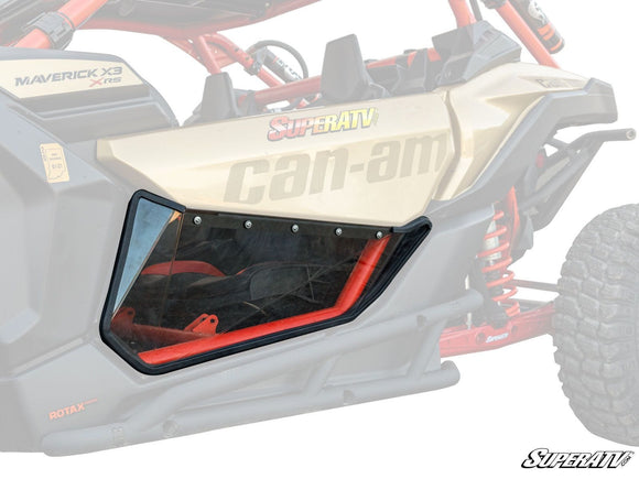 Can-Am Maverick X3 Clear Lower Doors By SuperATV
