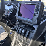 "Can-Am Maverick X3 7"" GPS Bracket by PCI Race Radios"
