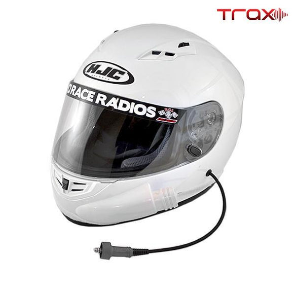 Trax HJC CS-R3 Playcar Raceair DOT Helmet by PCI Race Radios