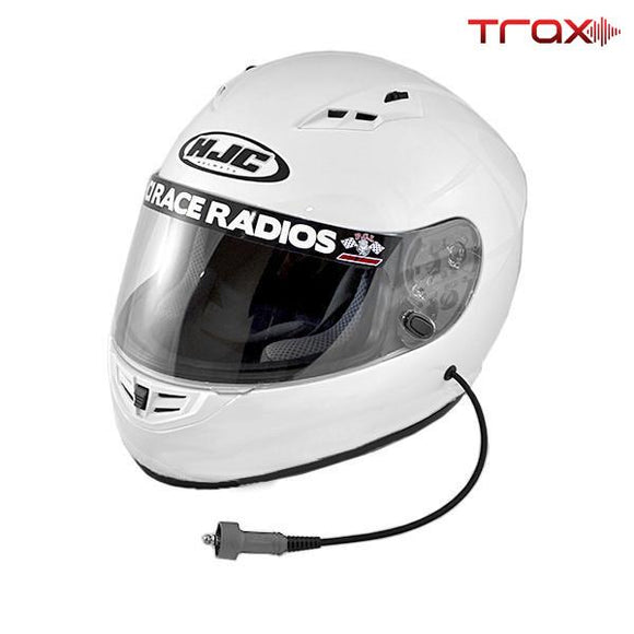 Trax HJC CS-R3 Playcar DOT Helmet by PCI Race Radios