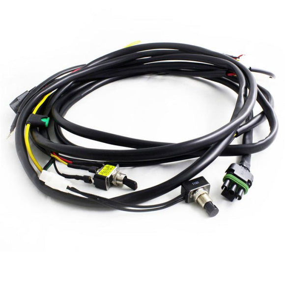 Baja Designs Wiring Harness with Dim Mode for ONX6+, XL Pro & Sport LED Lights