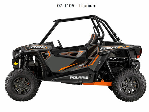 Door Panel Graphics RZR XP 1000 (2 Seat 2014/2015) by Dragonfire