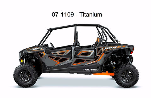 Door Panel Graphics RZR XP 4 1000 (4 Seat 2014/2015) by Dragonfire
