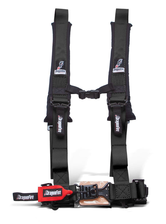 H-Style 5-Point 2 Inch Harness (Sewn In) by DragonFire