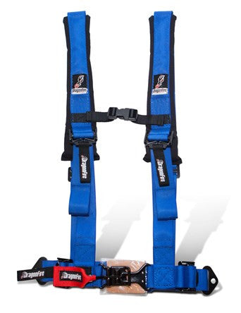 H-Style 4-Point 2 Inch Harness (Sewn In) by DragonFire