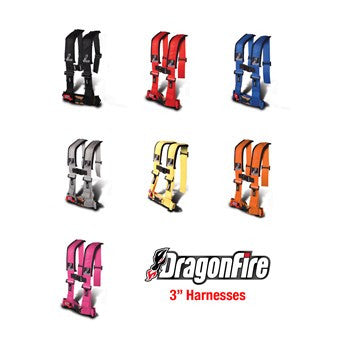 Seat Belt Harness by Dragonfire Racing, H-Style (3
