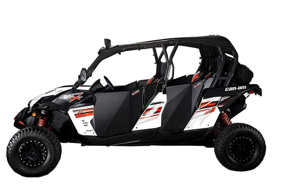 DIRT SPECIALTIES CAN-AM MAVERICK MAX COMMANDER MAX SUICIDE FULL DOORS