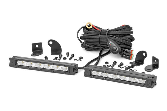ROUGH COUNTRY 6-INCH SLIMLINE CREE LED LIGHT BARS (PAIR)
