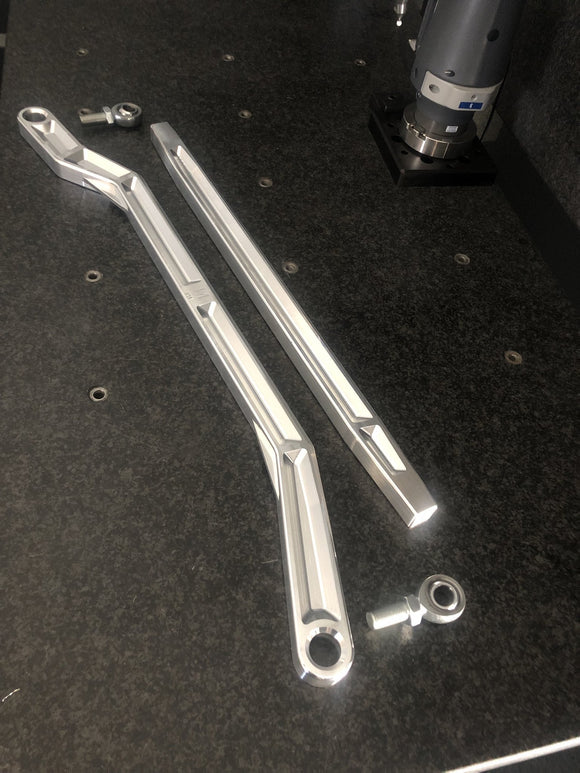 2018+ Polaris RZR Turbo S High Clearance Radius Rods by LM UTV