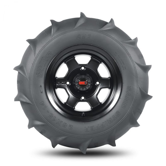 GMZ Sand Stripper Rear HP (14 Paddle) Tire 28x15 R14