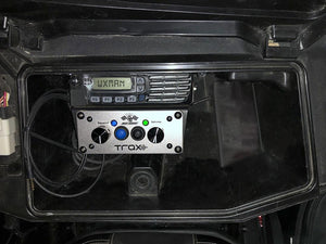 Can-Am Maverick X3 Glove Box Icom Radio & Intercom Bracket by PCI Race Radios