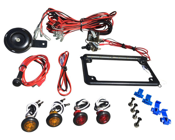 UNIVERSAL ATV STREET LEGAL KIT by WD Electronics