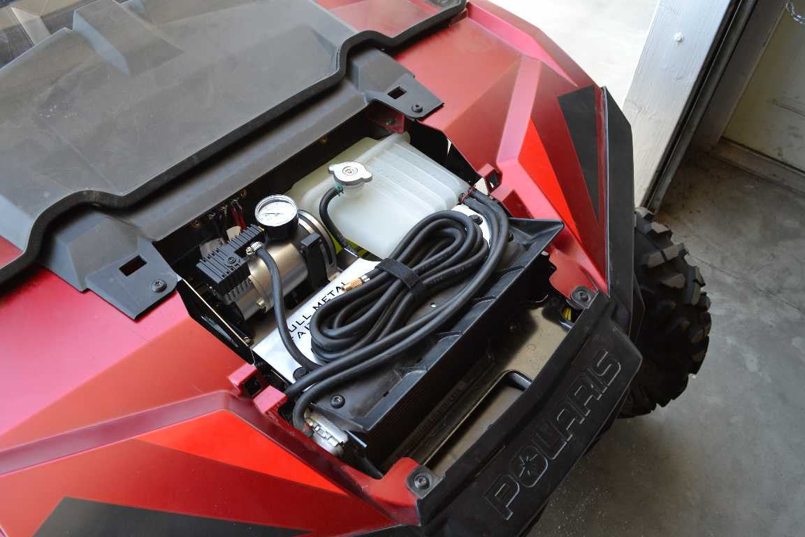 Full Metal Fabworks Adventure Air Compressor Kit Polaris RZR XP 900 2011-2014