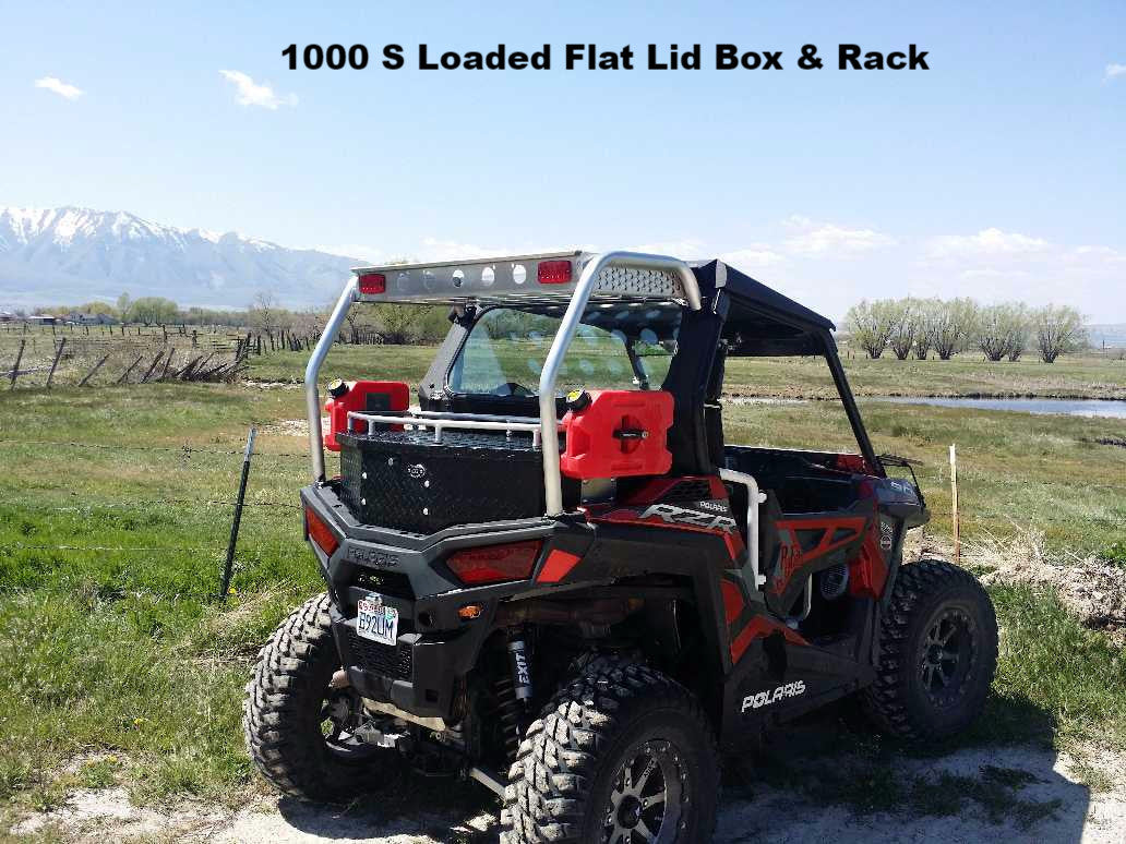 Rzr 1000 Dimensions >> Ryfab Rzr 1000 S 900 S And 900 Trail Cargo Boxes Pro Utv