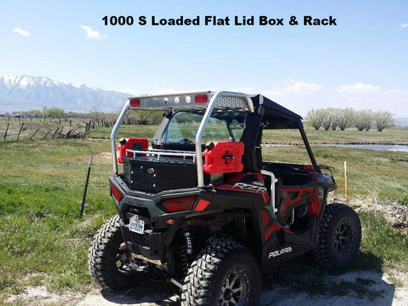 Ryfab RZR 1000 S, 900 S, and 900 Trail Cargo Boxes