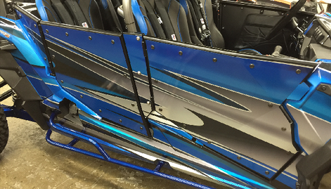 Dirt Engineered Doors by Desert Works for RZR 4 1000 and Turbo