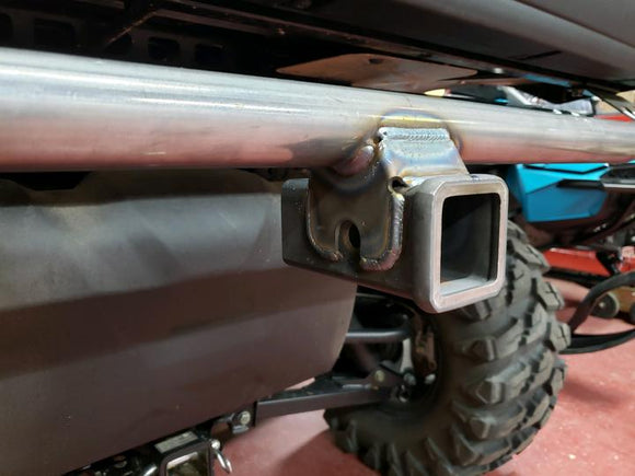 POLARIS RANGER REAR BUMPER RECEIVER HITCH by B&M Fabrication