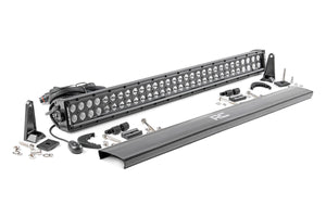 ROUGH COUNTRY 30-INCH CREE LED LIGHT BAR - (DUAL ROW | BLACK SERIES)