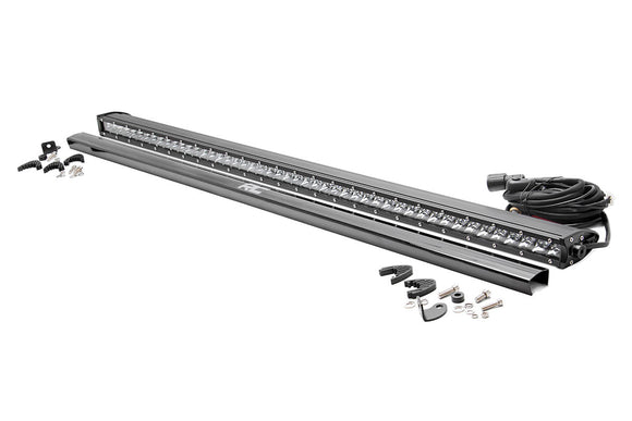 ROUGH COUNTRY 50-INCH STRAIGHT CREE LED LIGHT BAR - (SINGLE ROW | CHROME SERIES)