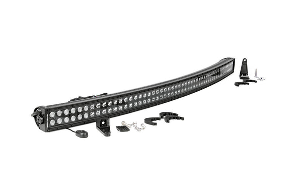 ROUGH COUNTRY 54-INCH CURVED CREE LED LIGHT BAR - (DUAL ROW | BLACK SERIES)