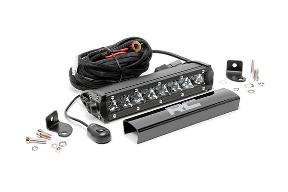 ROUGH COUNTRY 8-INCH CREE LED LIGHT BAR (CHROME SERIES)