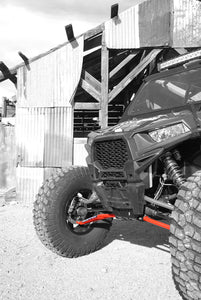 Heavy Duty Maximum Ground Clearance Lower Front A-Arm Kit for Polaris RZR XP 1000