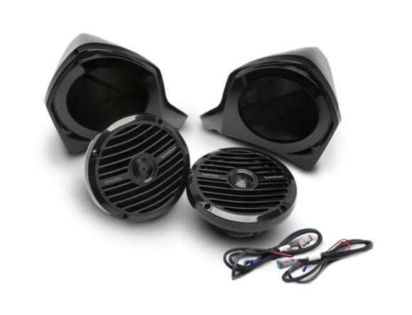 Add-on Front Upper Speaker Kit for use with YXZ-STAGE2 and YXZ-STAGE3 Kits by Rockford Fosgate